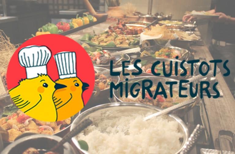 Les Cuistots Migrateurs, à table !