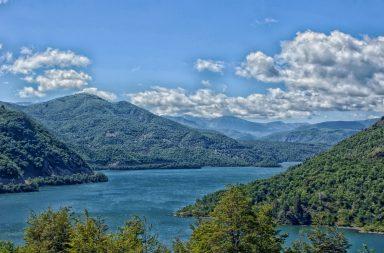Un paysage du Chili