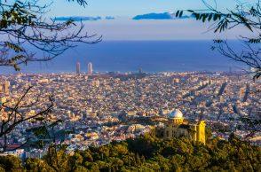 La ville de Barcelone